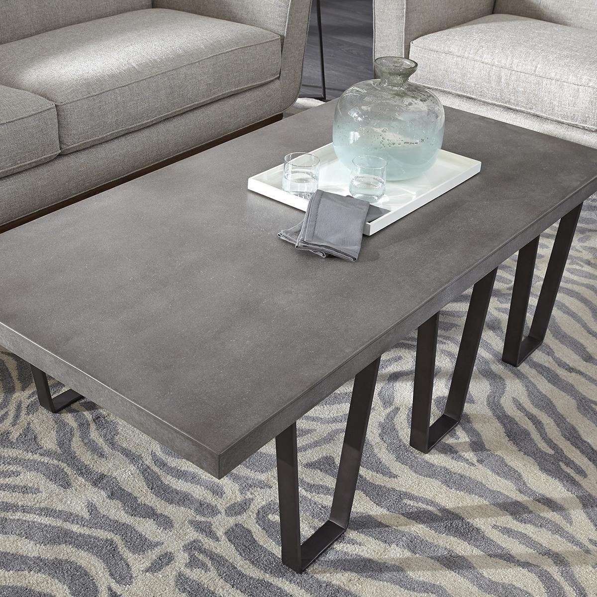 Accentric Approach Urban Eclectic Benton Coffee Table In Grey Nebraska Furniture Mart Coffee Table Coffee Table Grey Coffee Table Accents [ 1200 x 1200 Pixel ]