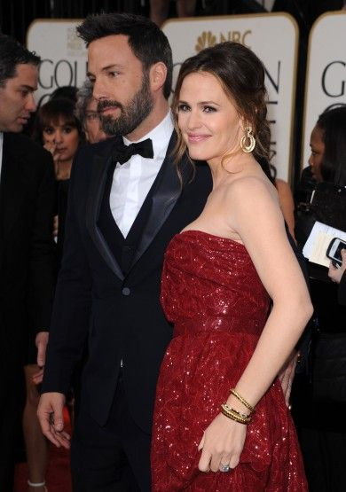 Jennifer Garner at the 2013 Golden Globes