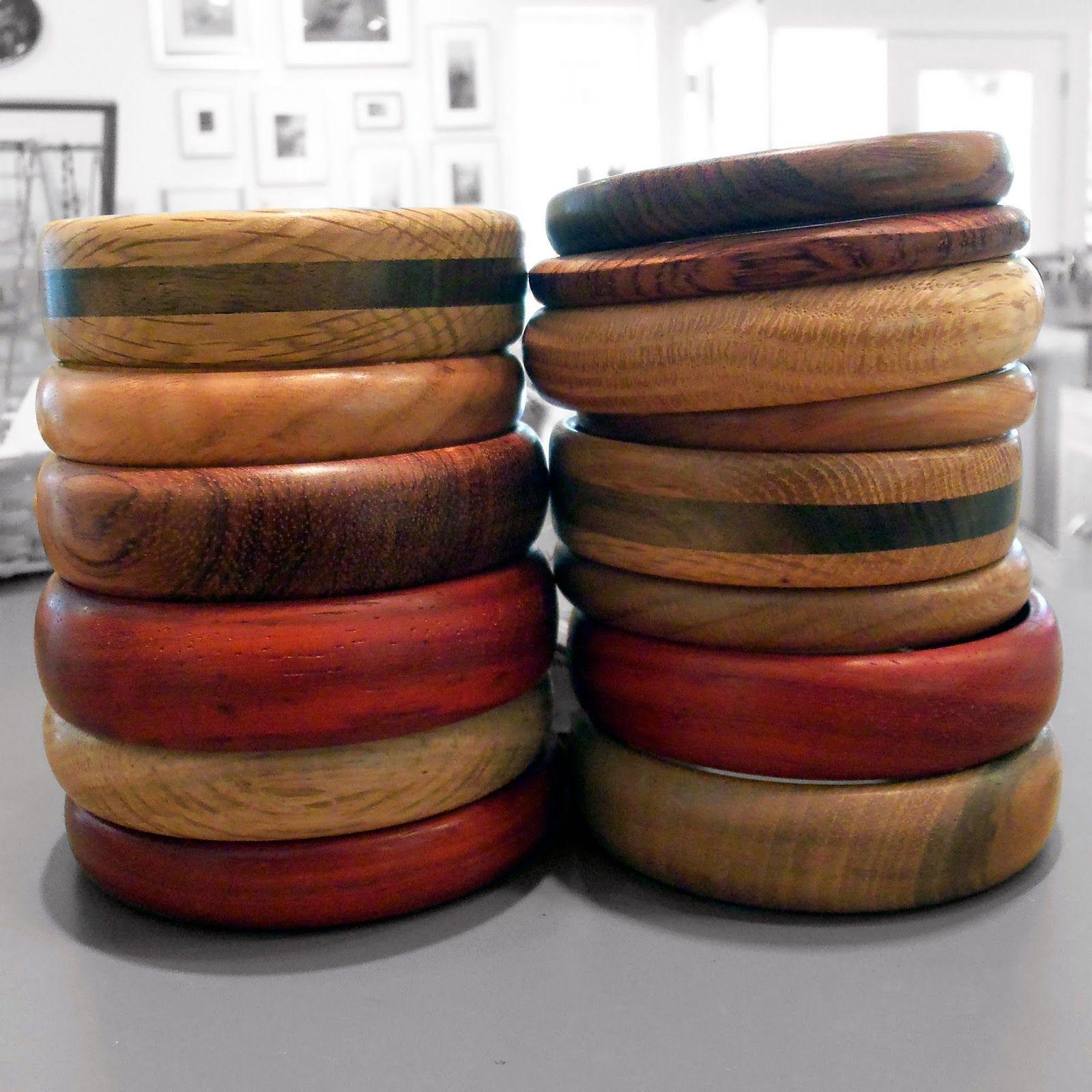 Hand-turned Wood Bracelets - Joseph Verret | Touchstone Gallery