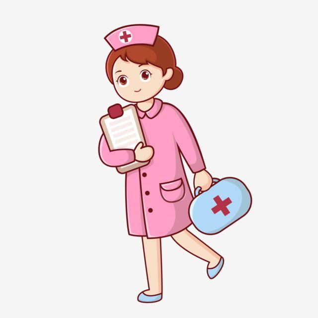 Nurse Red Cross Smile Folder Medicine Hospital Nursing Png And Vector With Transparent Background For Free Download Nurse Cartoon World Red Cross Day Nurse Art
