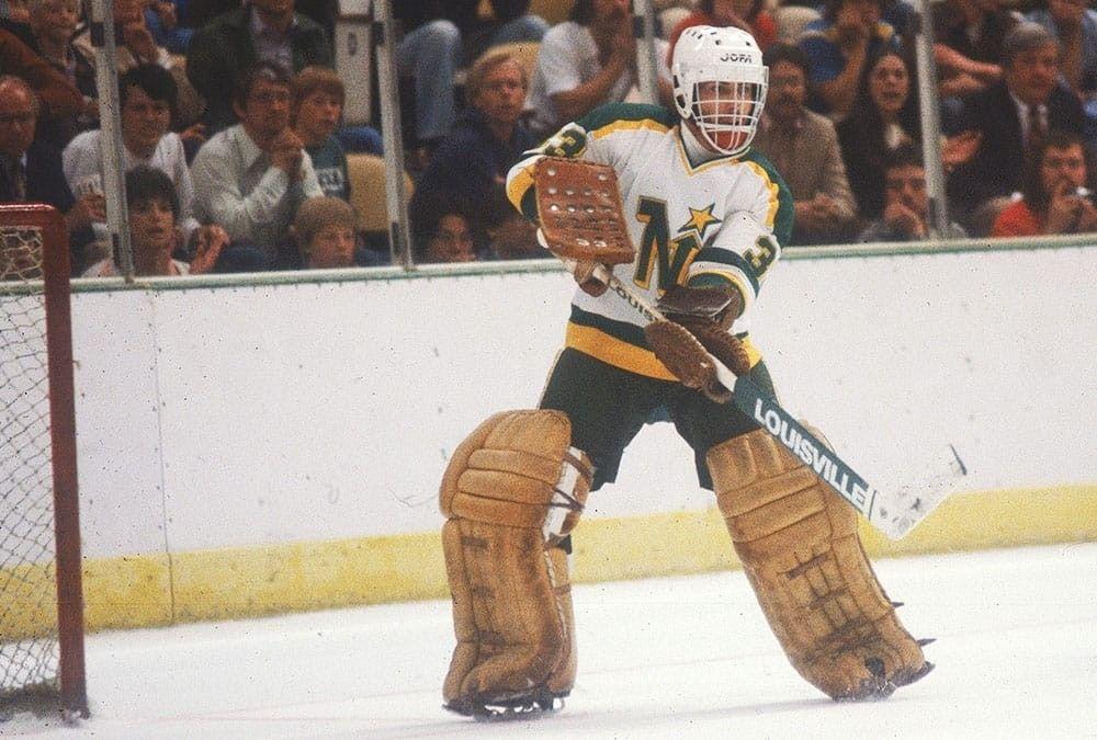 Don Beaupre Minnesota north stars, Goalie, North star