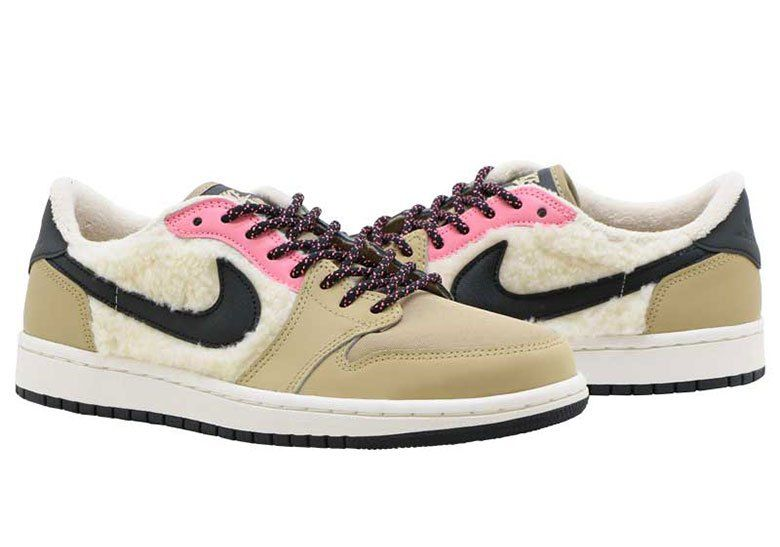 5e2d332eee1ad6 Jordan Brand To Release Air Jordan 1 Lows Padded With Sherpa Fleece ...