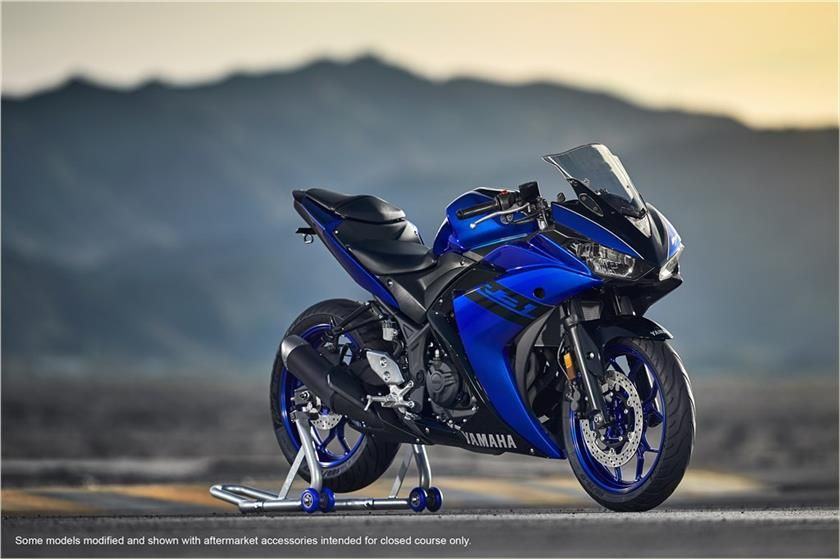 2018 Yamaha Yzf R3 Supersport Motorcycle Model Home