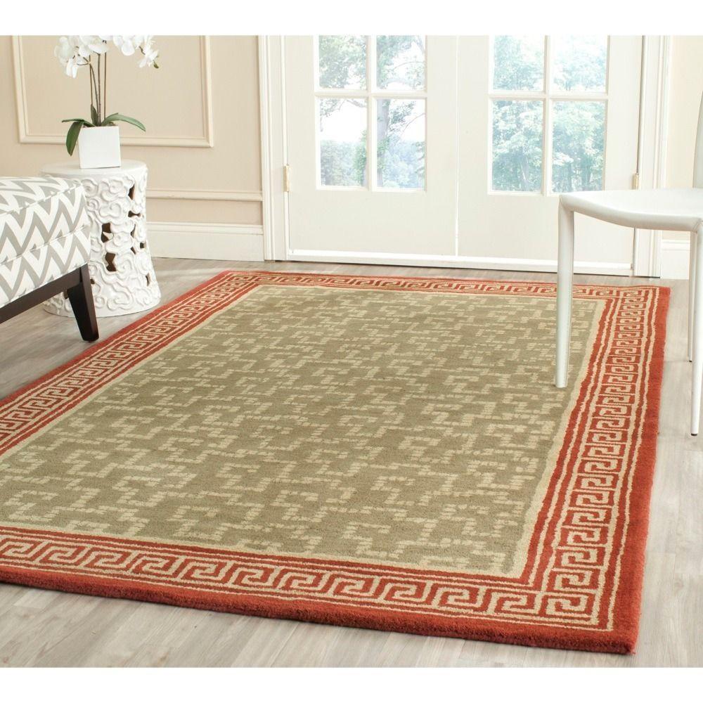 Martha Stewart By Safavieh Handmade Byzantium Wool Rug