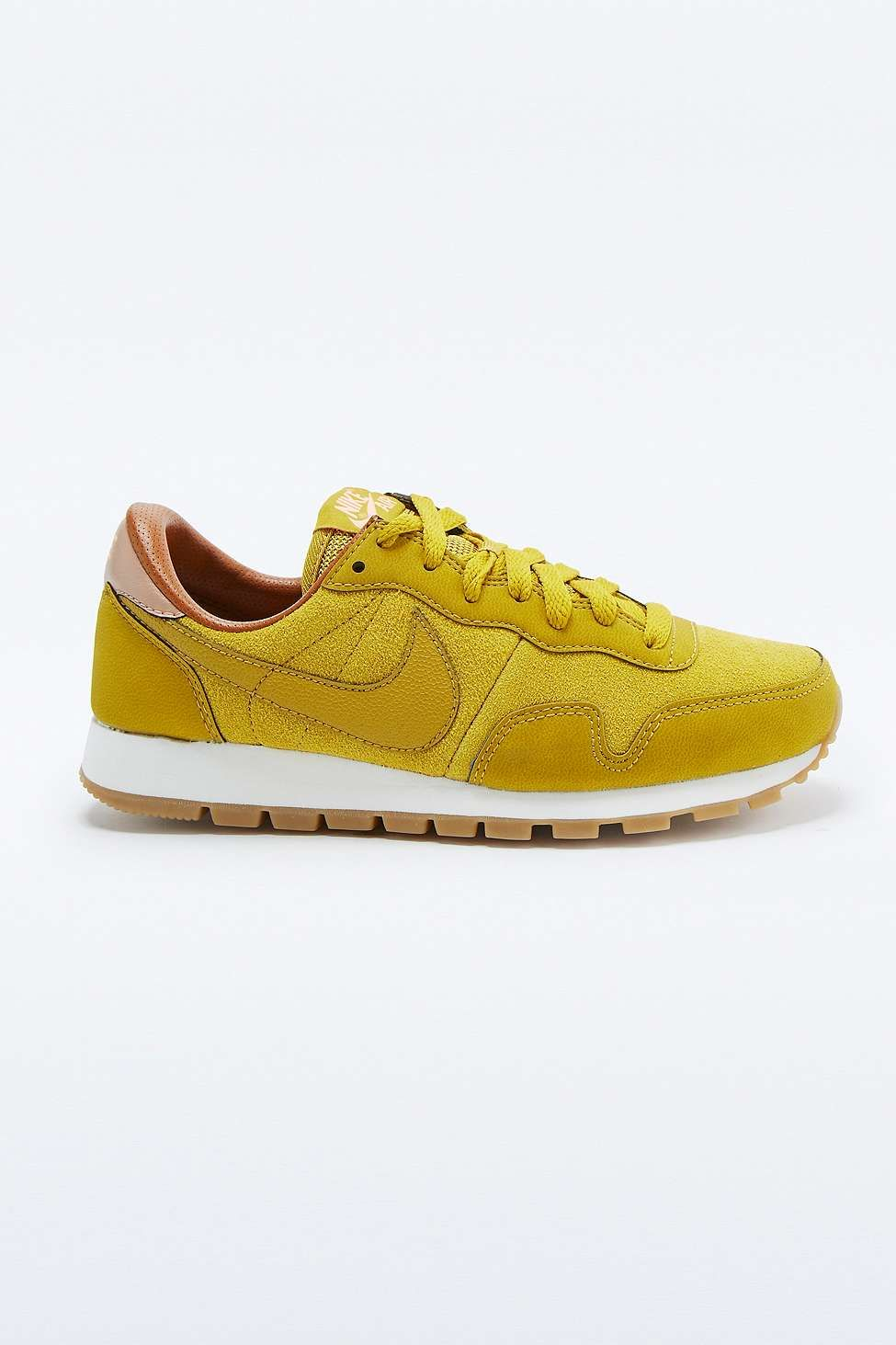 purchase cheap ae5fa f27bb Nike Air Pegasus 83 Mustard Trainers look at home beautiful they are omgg  )))