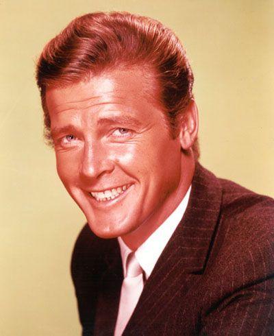 LE SAINT HOMME British TV Drama T-Shirt Roger Moore L/'Espion James Bond 007 Rétro Top