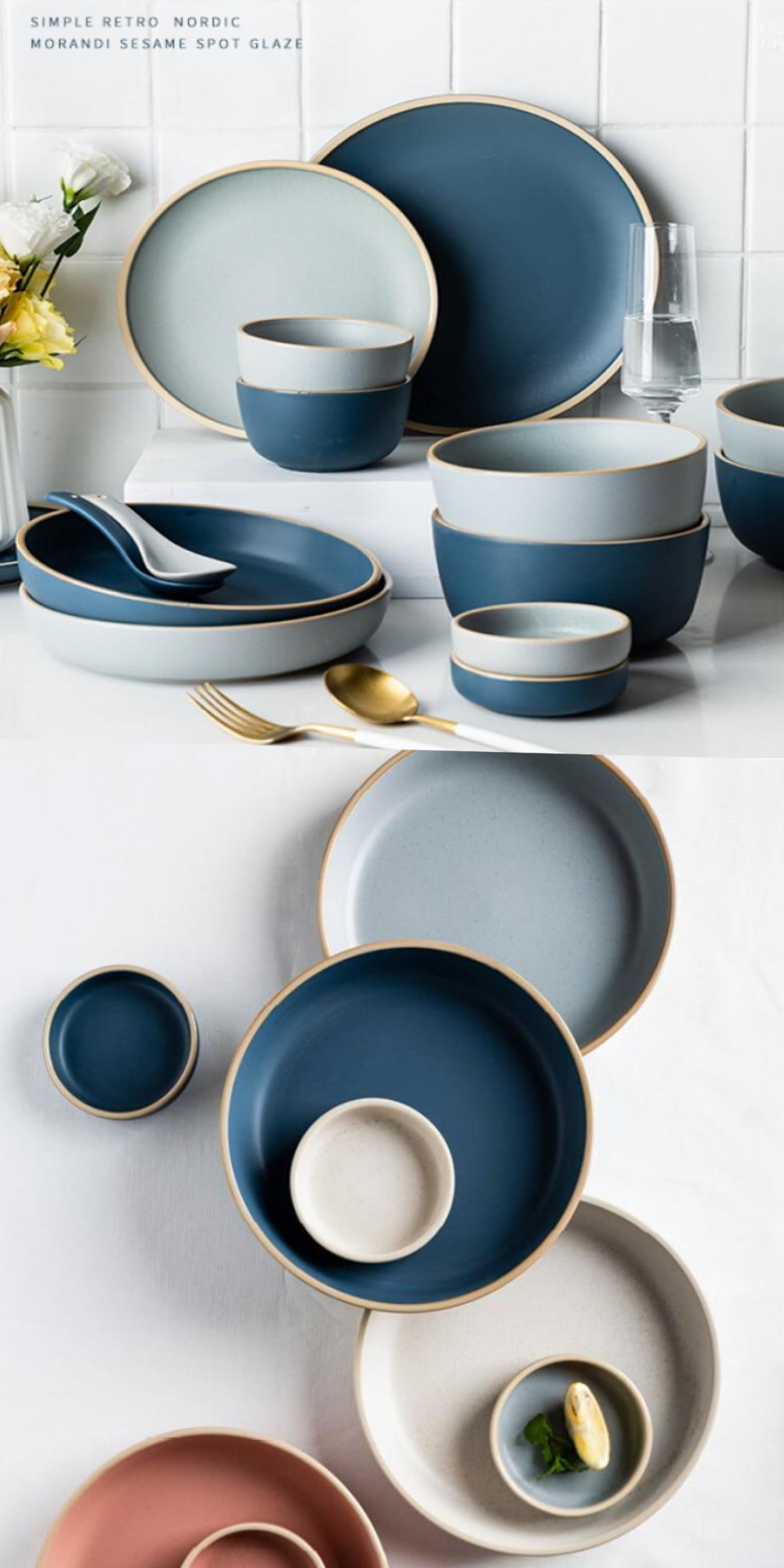 stoneware dinnerware set Ceramic bowl Dinnerware set Pottery plate Dinner set Dish set Plate set Cheese board Ceramic dinnerware