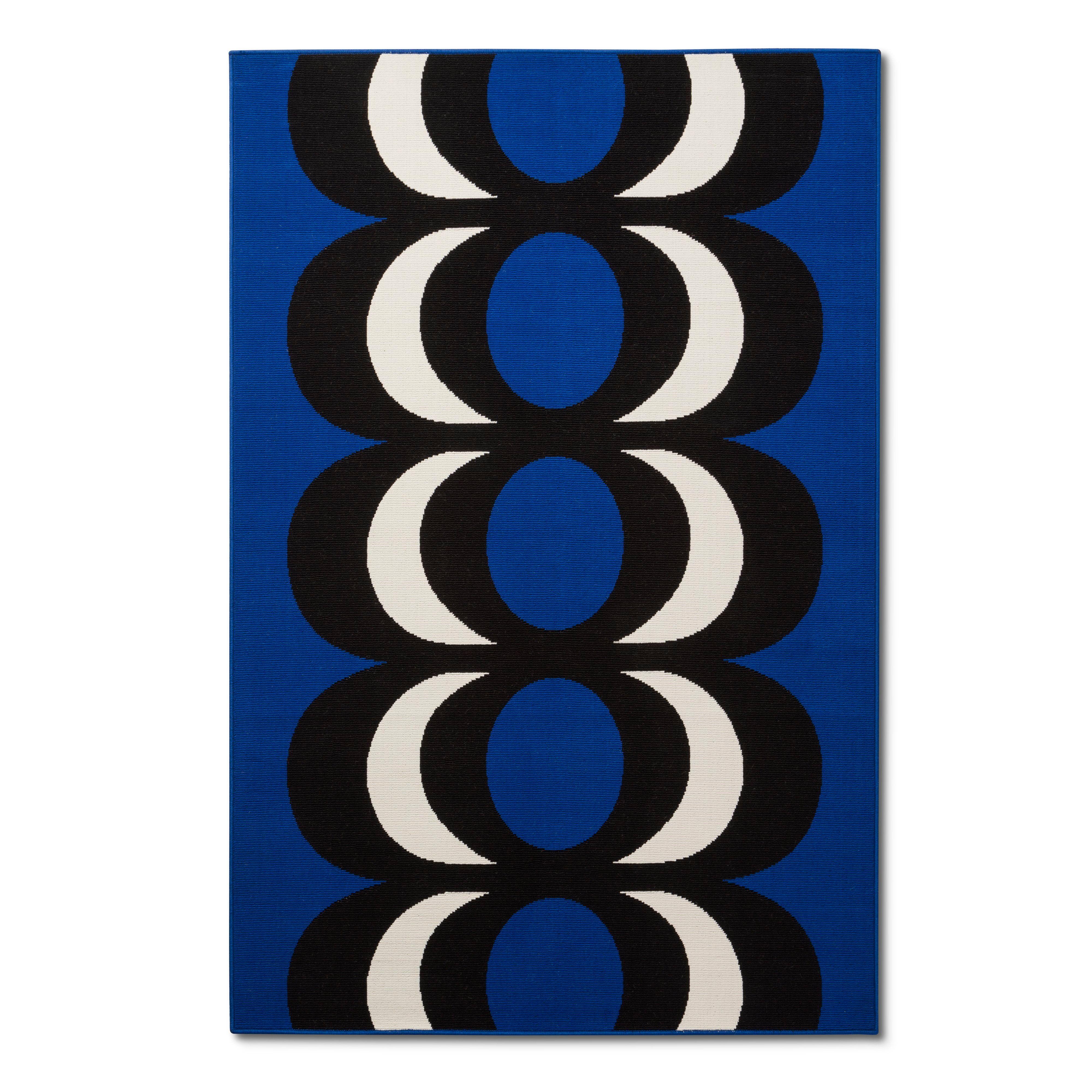 Outdoor Rug 5u0027x7u0027   Kaivo Print   Blue   Marimekko For Target