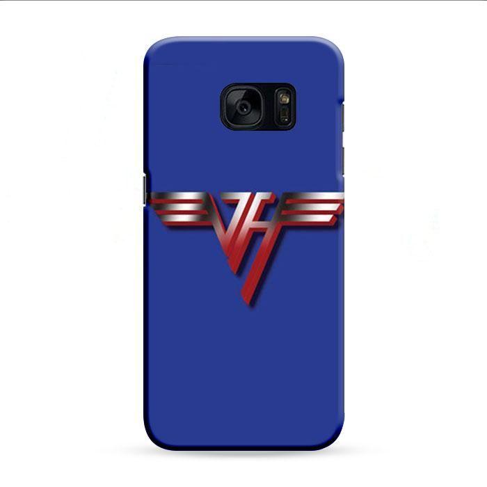 Van Halen Red Samsung Galaxy S7 Edge 3D Case