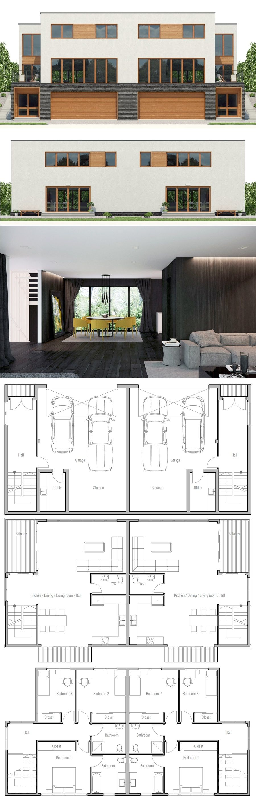 Shipping Container Home Plan Duplex House Plans Affordable House Plans House Plans