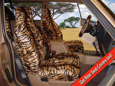 Custom Seat Covers For Trucks >> Tiger Seat Covers. Grrrrr. | Seat covers, Custom seat covers, Tiger skin
