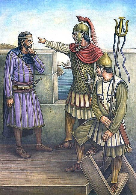 Mago ordered by in Carthage in 209 BC