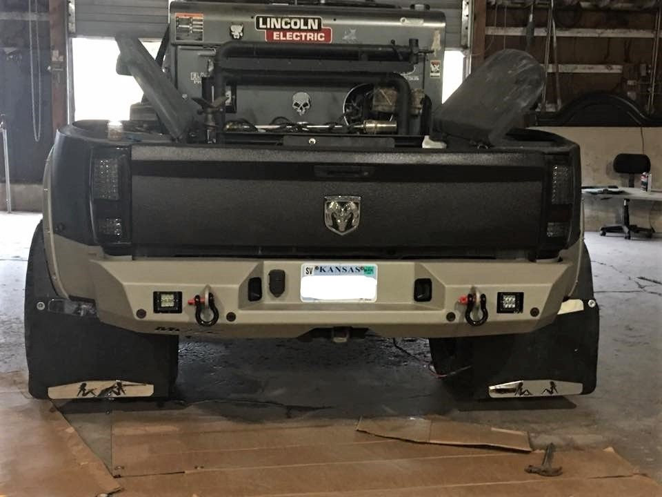 This truck is completely protected with this move rear bumper this truck is completely protected with this move rear bumper dodgetrucks movebumpers solutioingenieria Images