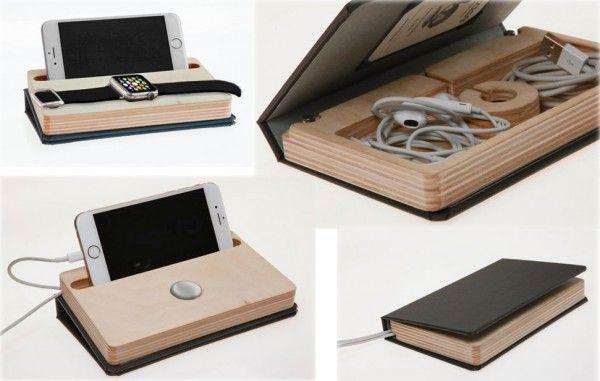 Dodocase Dual Charging Dock Iphone Apple Watch 1 Con Imagenes