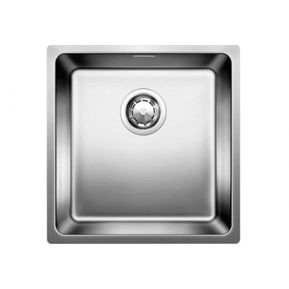 Blanco Andano 400 U Spule Edelstahl Ohne Exzenter 518309 Spule Edelstahl Waschbecken Kuchenspule