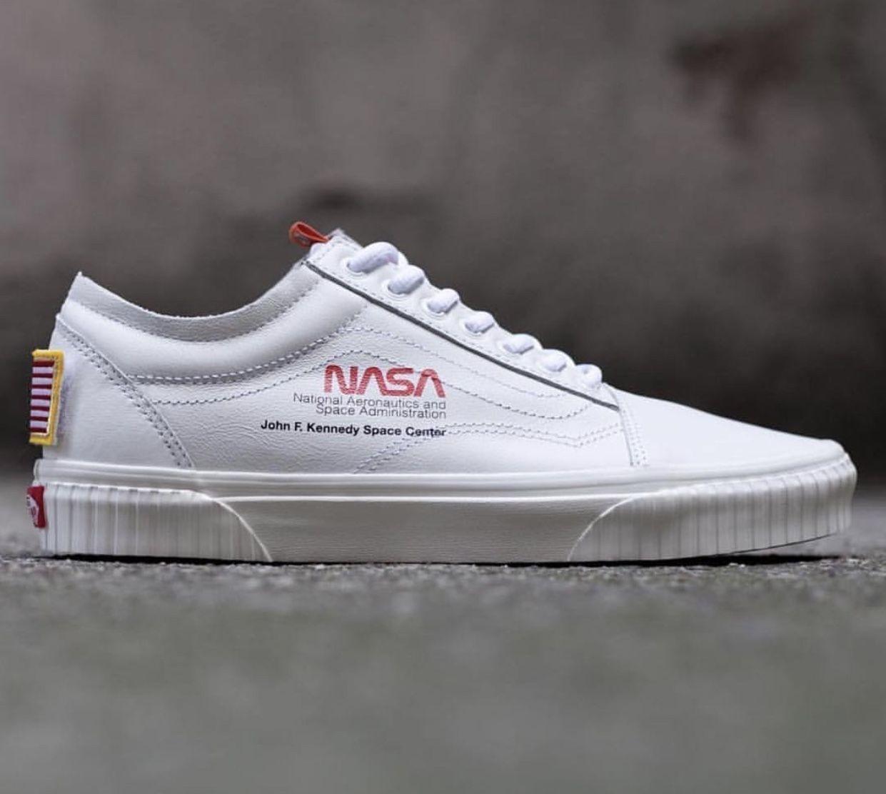 NASA x Vans Old Skool Space Voyager True White