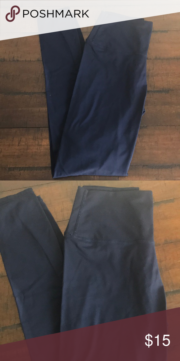 71e4a9bc188a2 Navy Blue Colorful Koala Leggings Like new, navy blue colorfulkoala Pants  Leggings