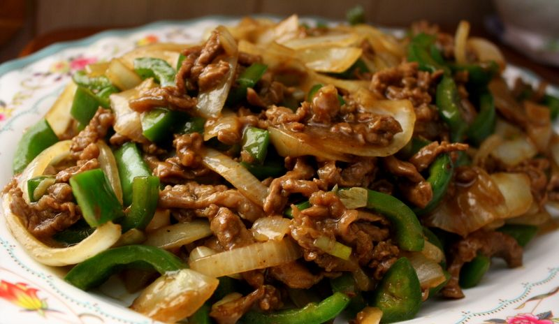 Beef Stir Fry Stir Fried Beef The One For Carne Picada With Onions And Jalapeno Peppers