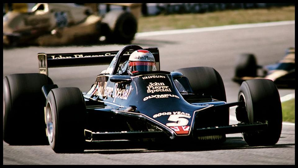 Mario Andretti, America's last F-1 World Champion, out for a Sunday afternoon drive.