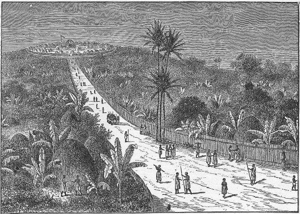 Kabaka Mutesa S Capital And Palace Atop At Rubaga Historical