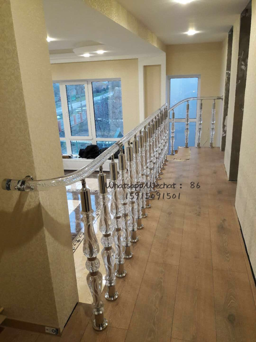 Best Acrylic Staircase Stainless Steel And Acrylic Stair 400 x 300