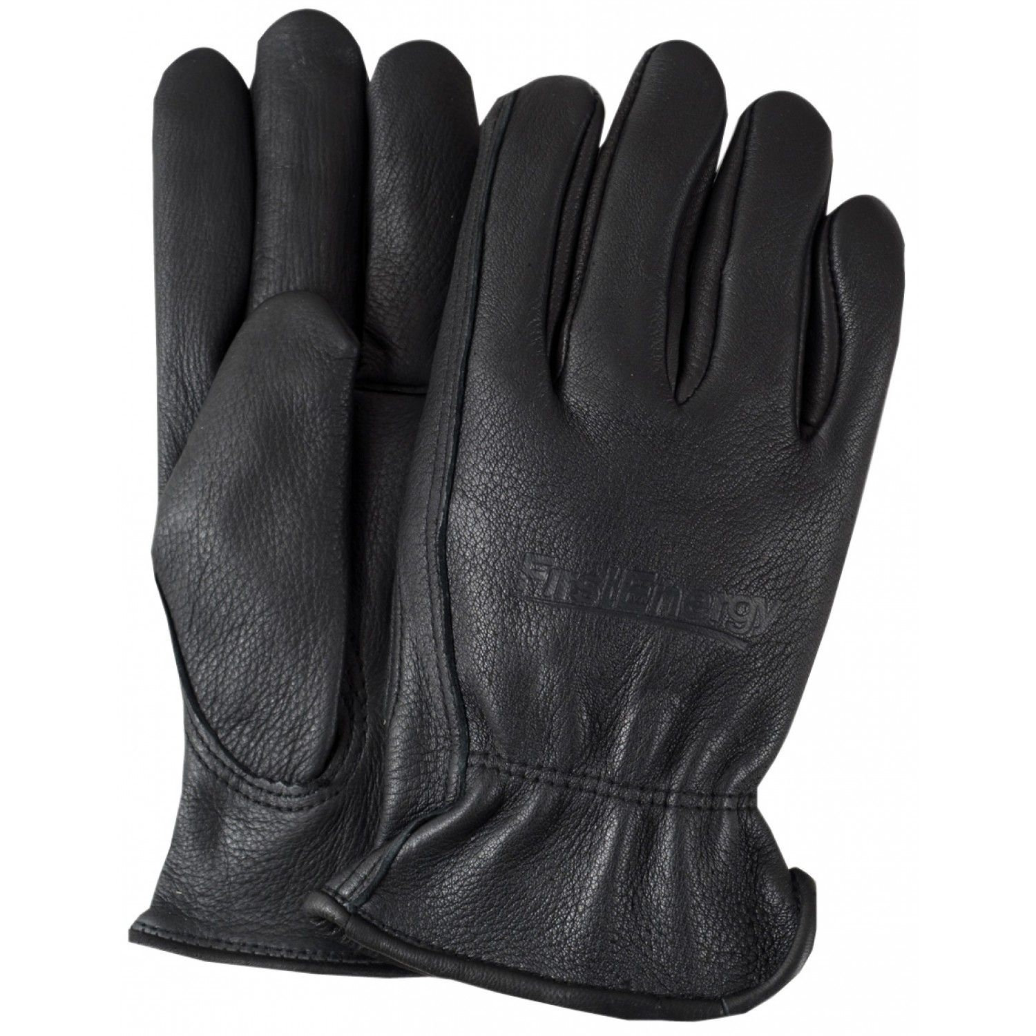 Insulated leather work gloves amazon - Brand Your Logo Into This Premium Grain Black Leather Gloves With Lining