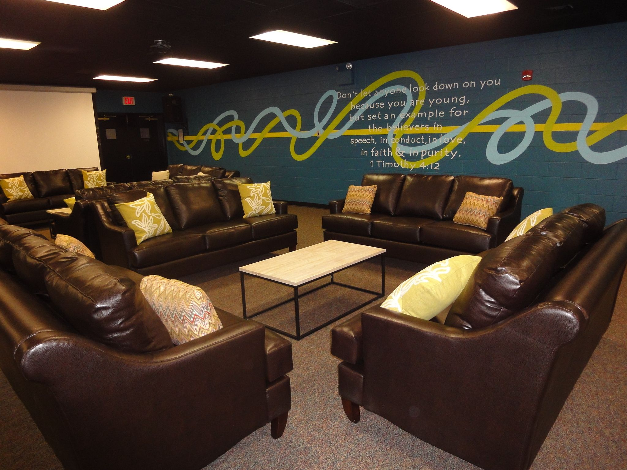 Joy Studio Design Gallery Best Design: Church Youth Lounge Designs