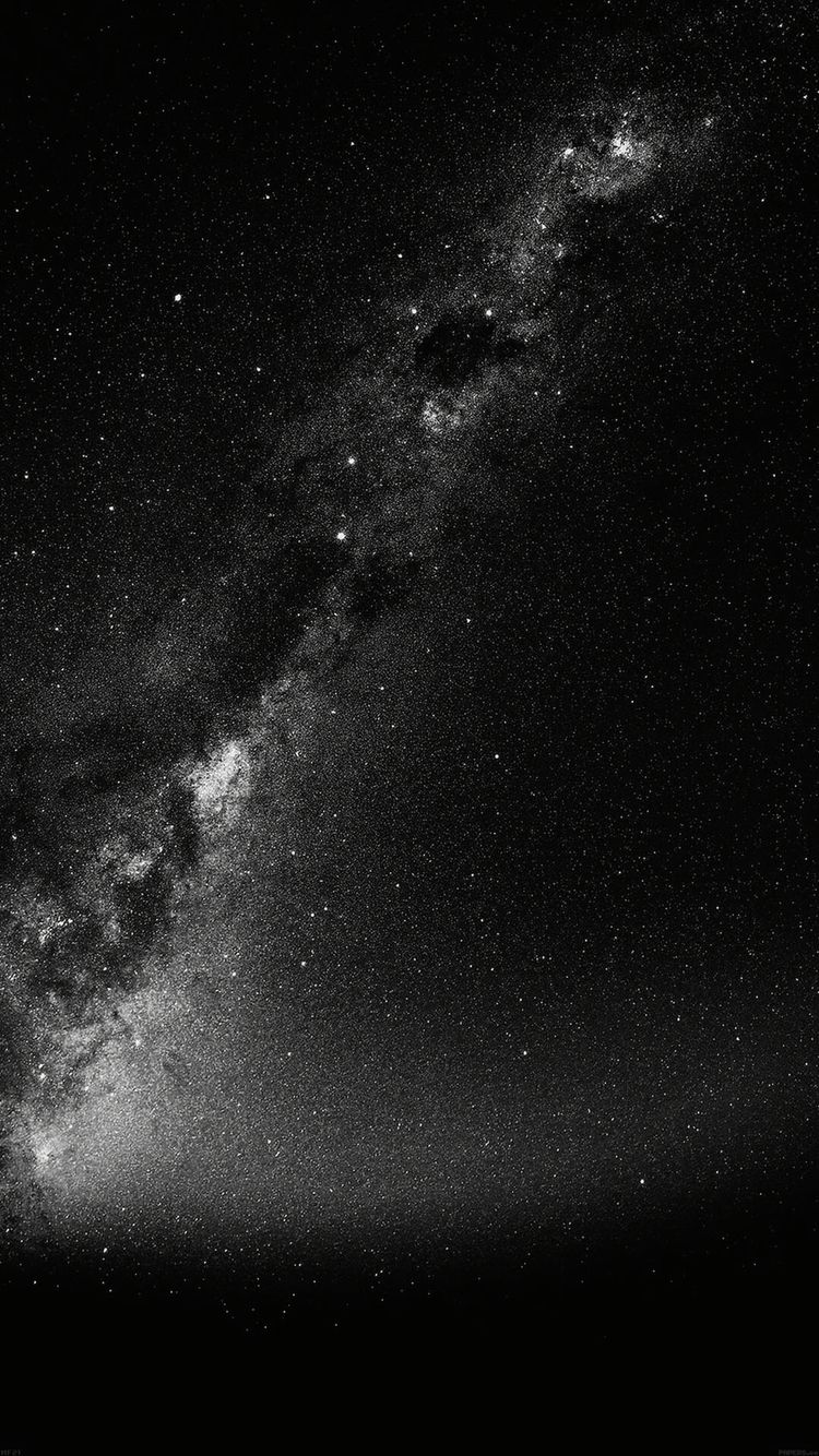 iphone galaxy stars black and white wallpaper iphone