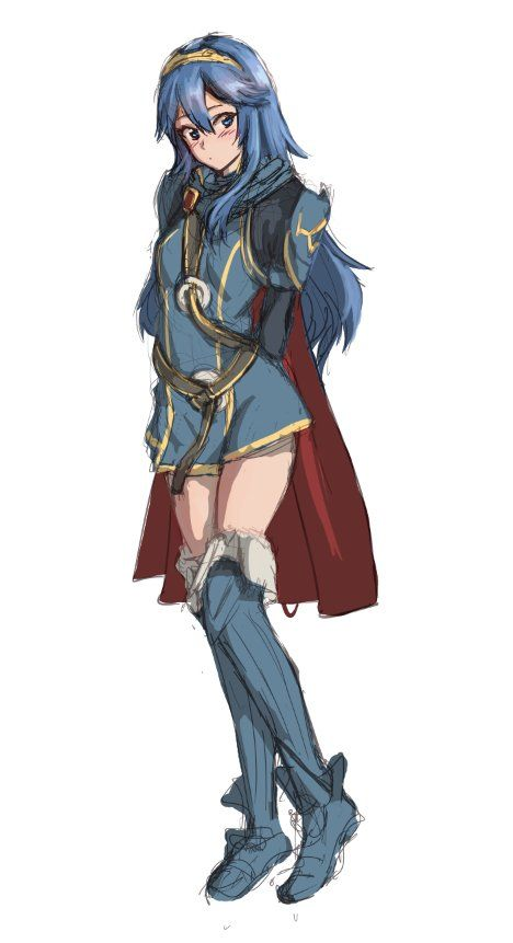 Sean At Ceo On Lucina Fire Emblem Fire Emblem Characters Fire