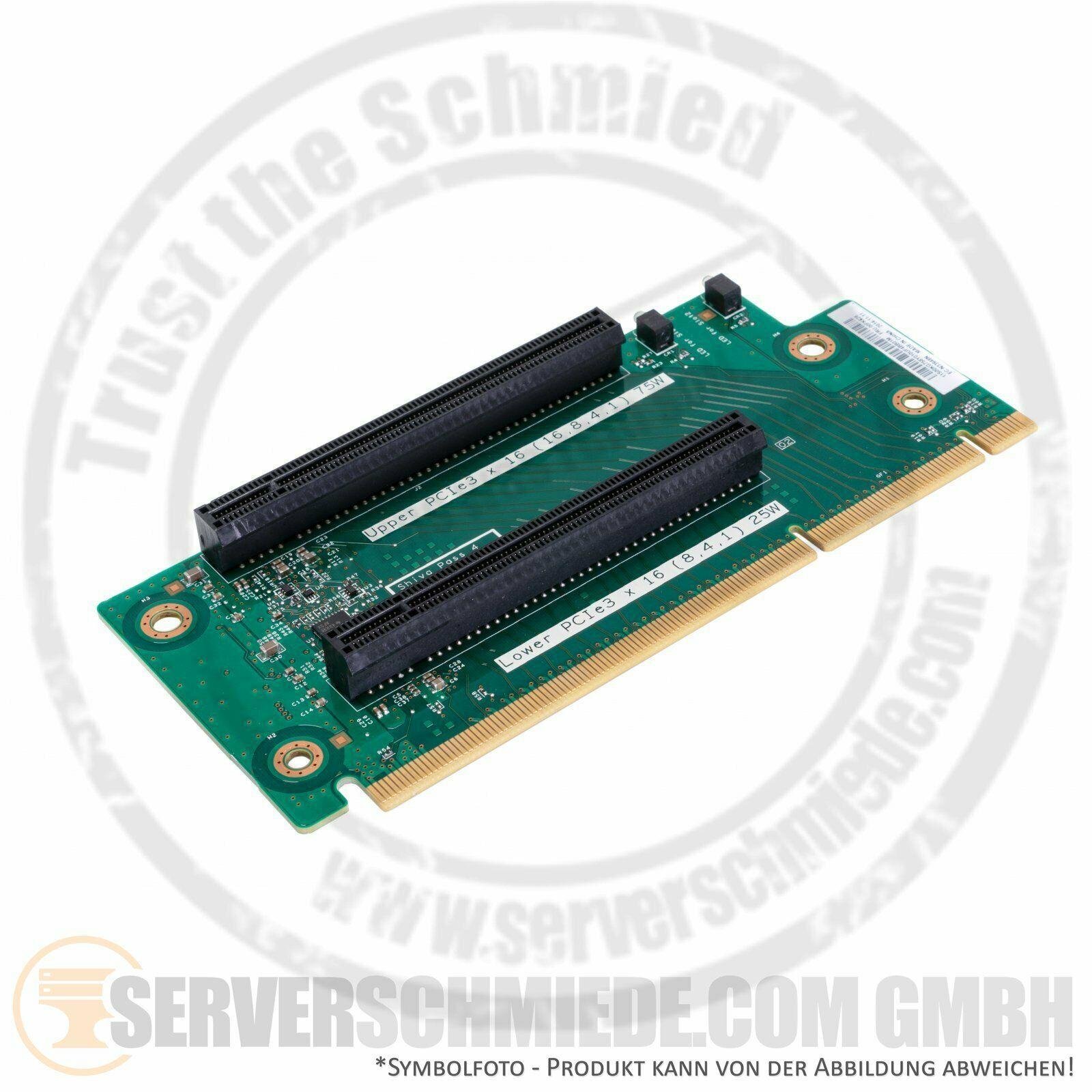 IBM 3650M5  Riser Card 2x PCIe x16 Slot 00FK628