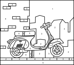 Vehicles Coloring Pages Coloring Pages Online Coloring Pages Color By Numbers