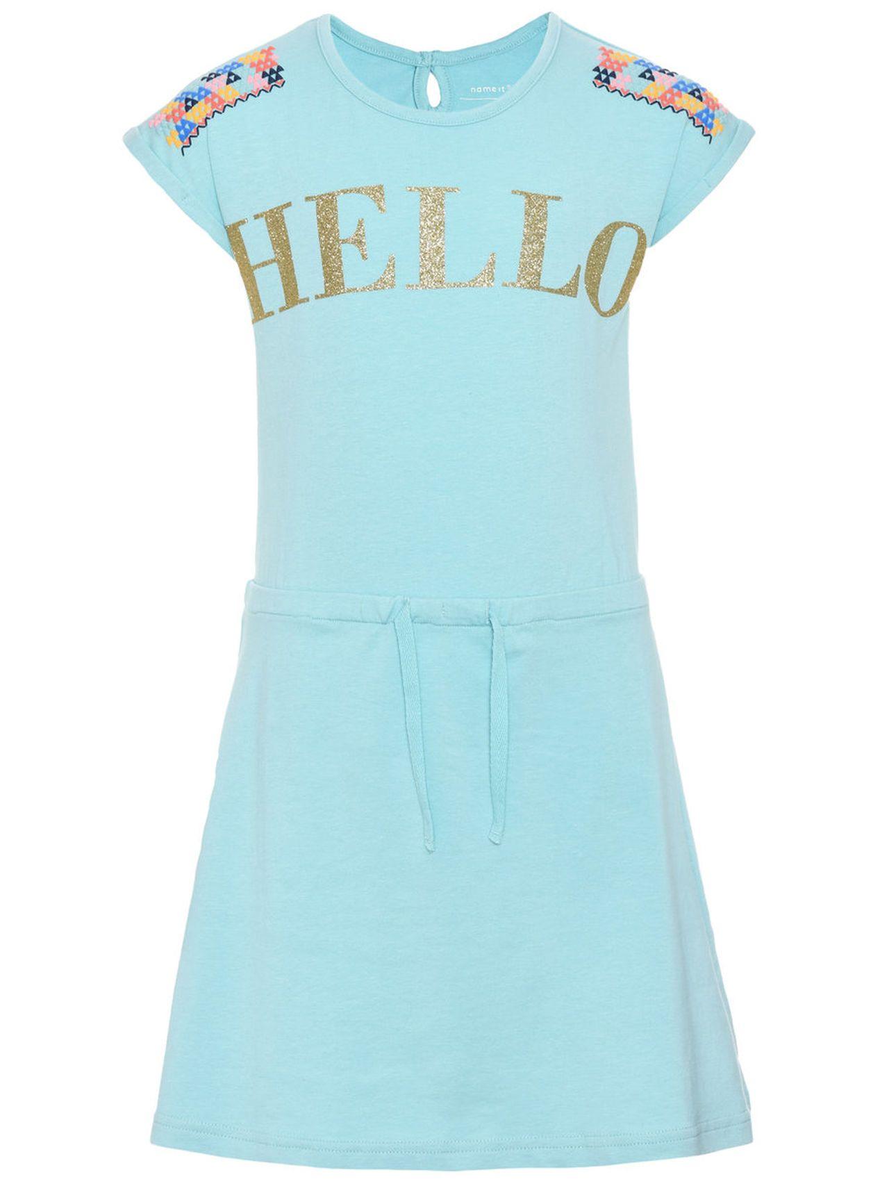 Name it kleid mit kurzen Ärmeln kids nitketna short sleeved dress
