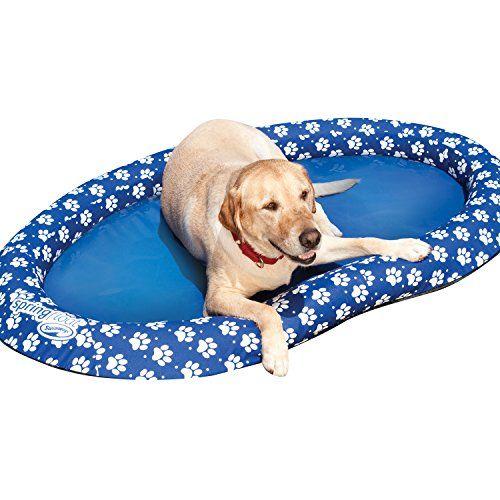 SwimWays Spring Float Paddle Paws Dog Pool Float SwimWays