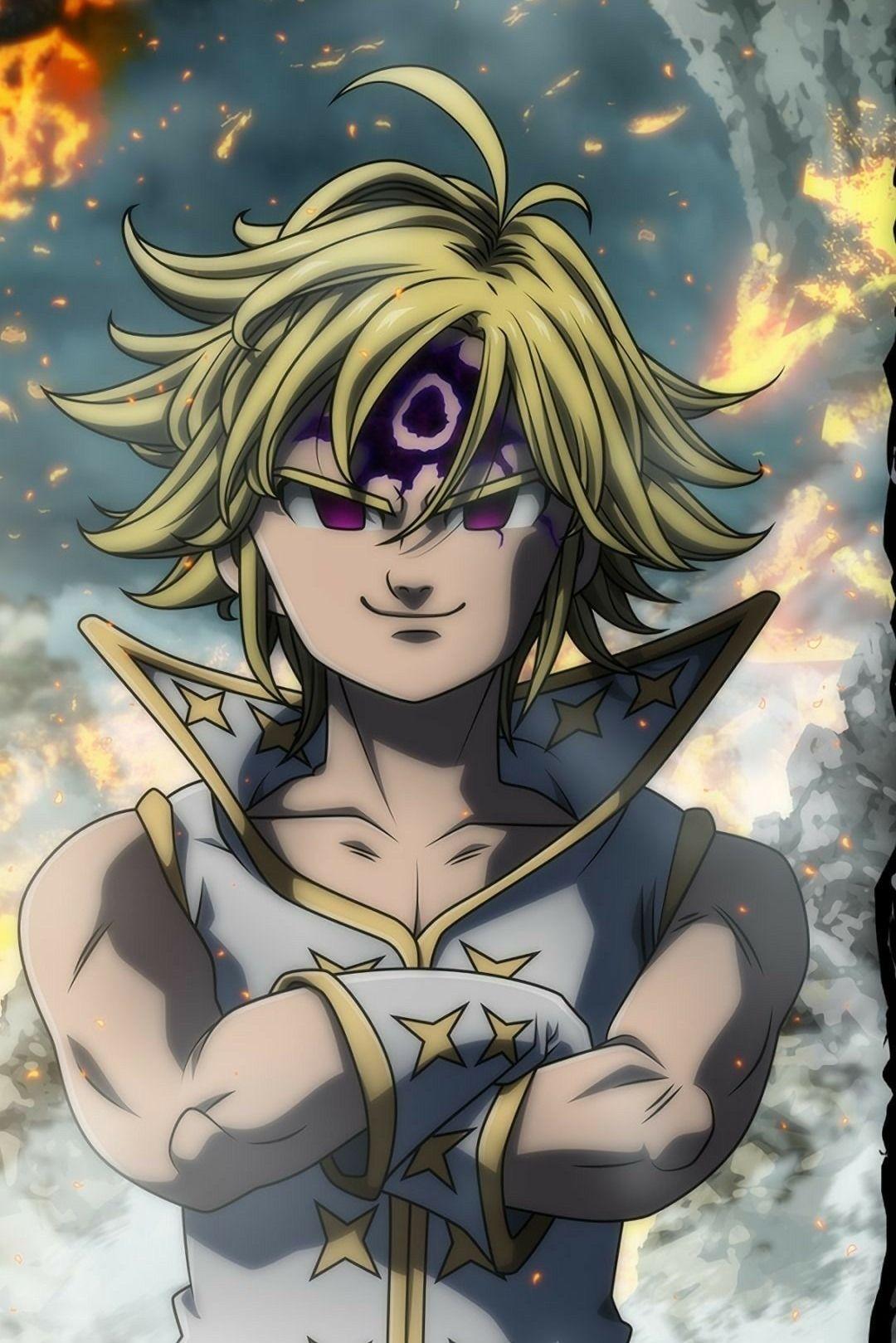 Nanatsu no taizai mangá de Zahid Flores em Anime 7 pecados
