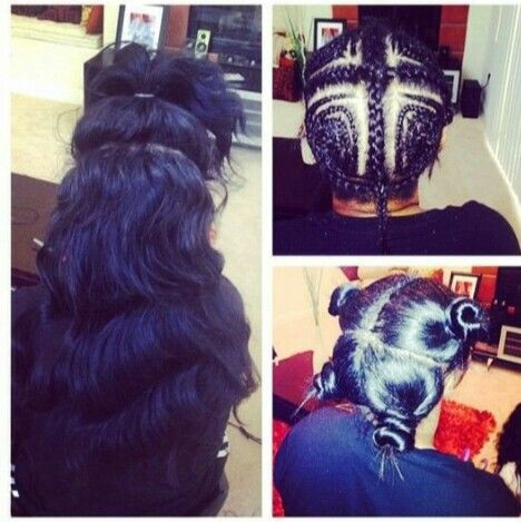 Vixen Sew In | Hair | Pinterest