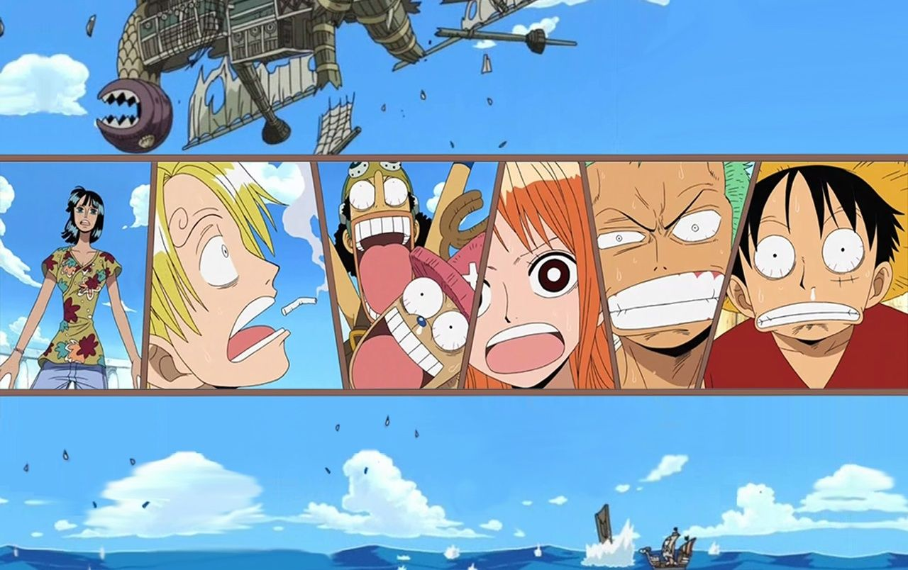 One Piece En El Mar Fondos De Pantalla One Piece En El Wallpaper Hd
