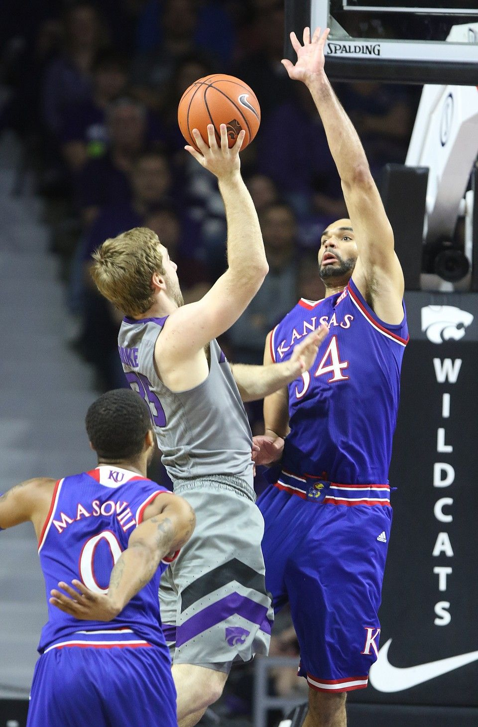 photo thumbnail Kansas basketball, Kansas state, Kansas
