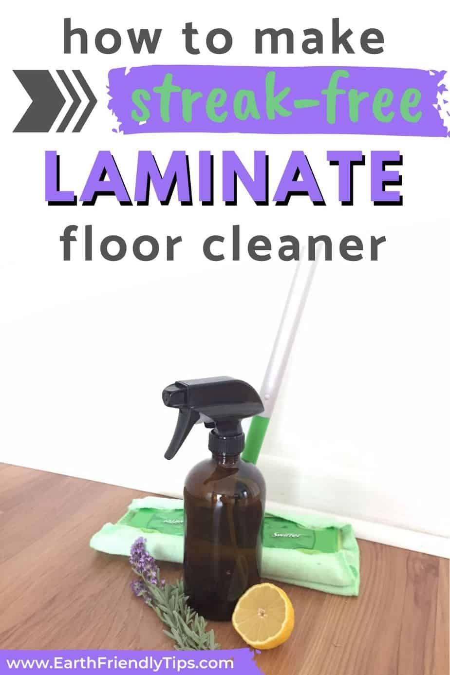 How to make diy laminate floor cleaner earth friendly