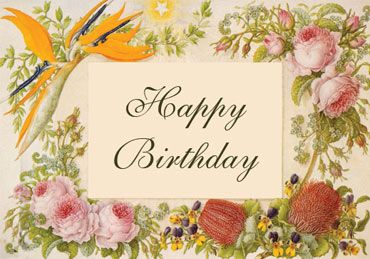 Flowers birthday card birthday pinterest free birthday card flowers birthday card bookmarktalkfo Image collections