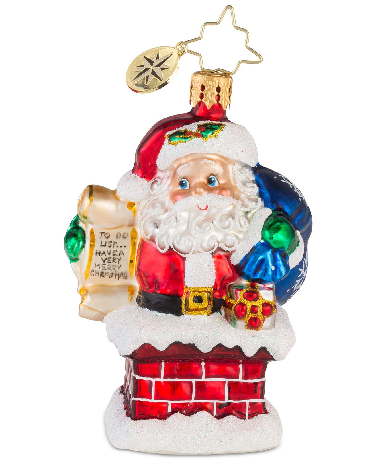 Christopher Radko Rooftop Checklist Gem Mid Year Ornament Reviews Holiday Shop Home Macy S Christopher Radko Ornaments Classic Christmas Decorations Ornaments