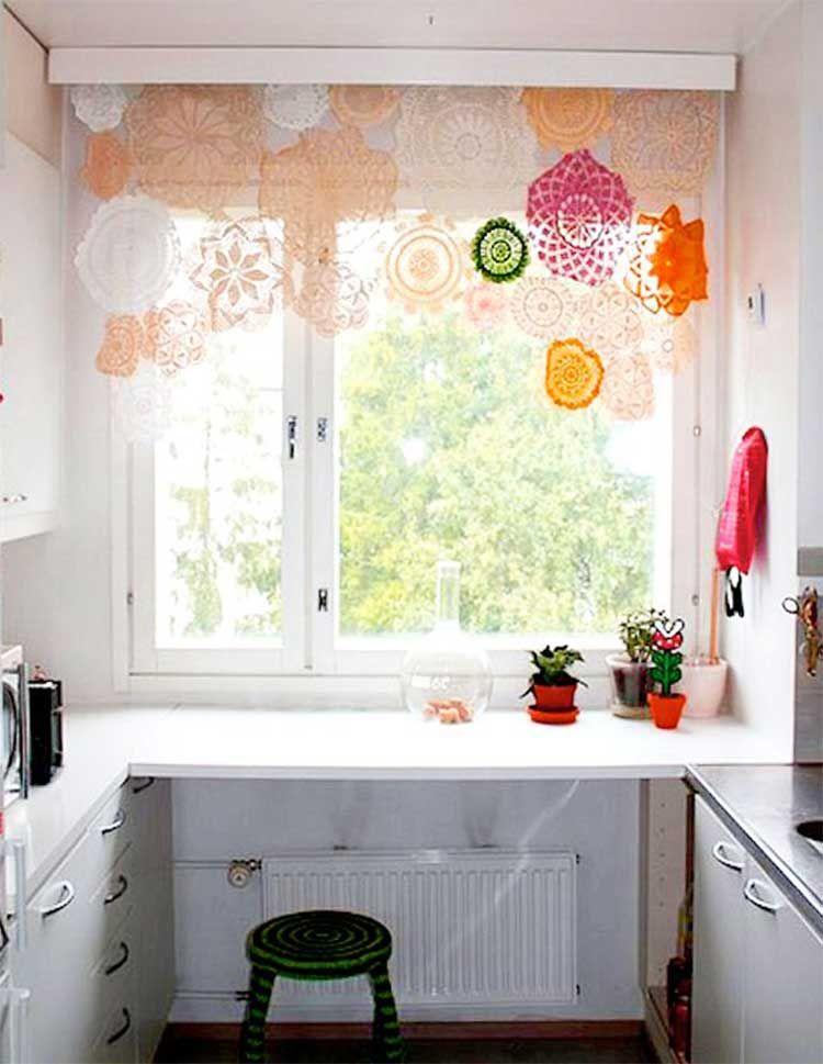 9 ideas para decorar y tapar ventanas sin cortinas Pinterest
