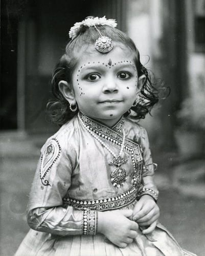 Young dancer   Toronto Star file photo    The little girl in this 1981 photo participated in a fancy dress competition as a dancer. She wears the traditional costume complete with ornaments and flowers and even her face has been made up with the customary beauty spots.