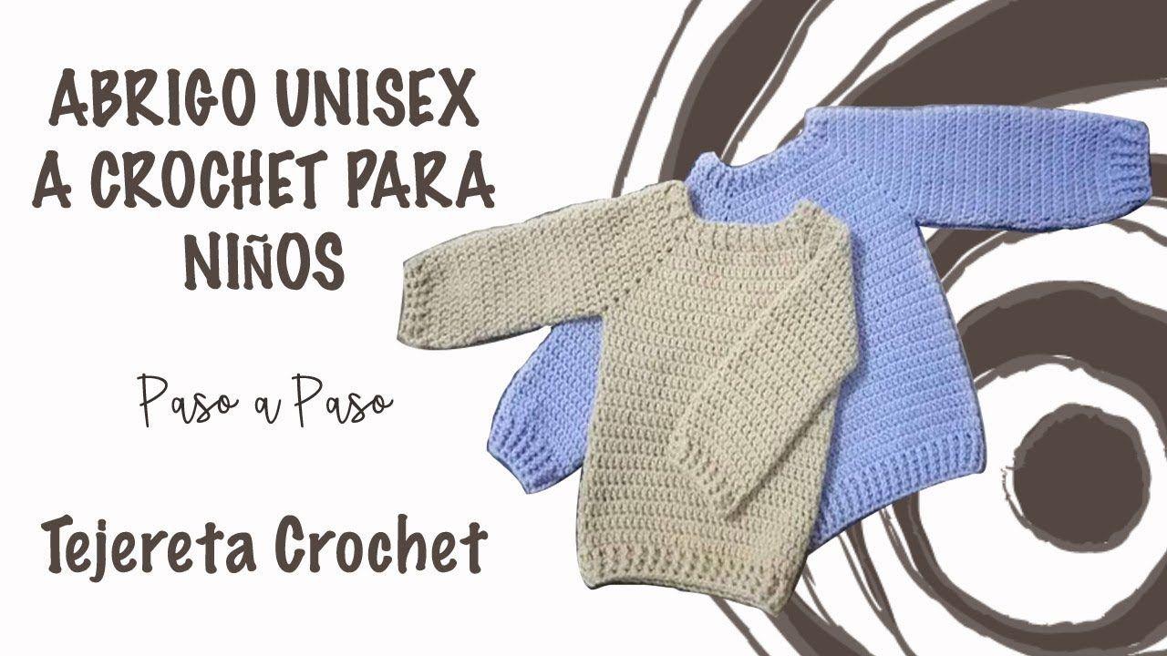 Sueter a Crochet paso a paso   Amigurumis   Pinterest   Croché ...