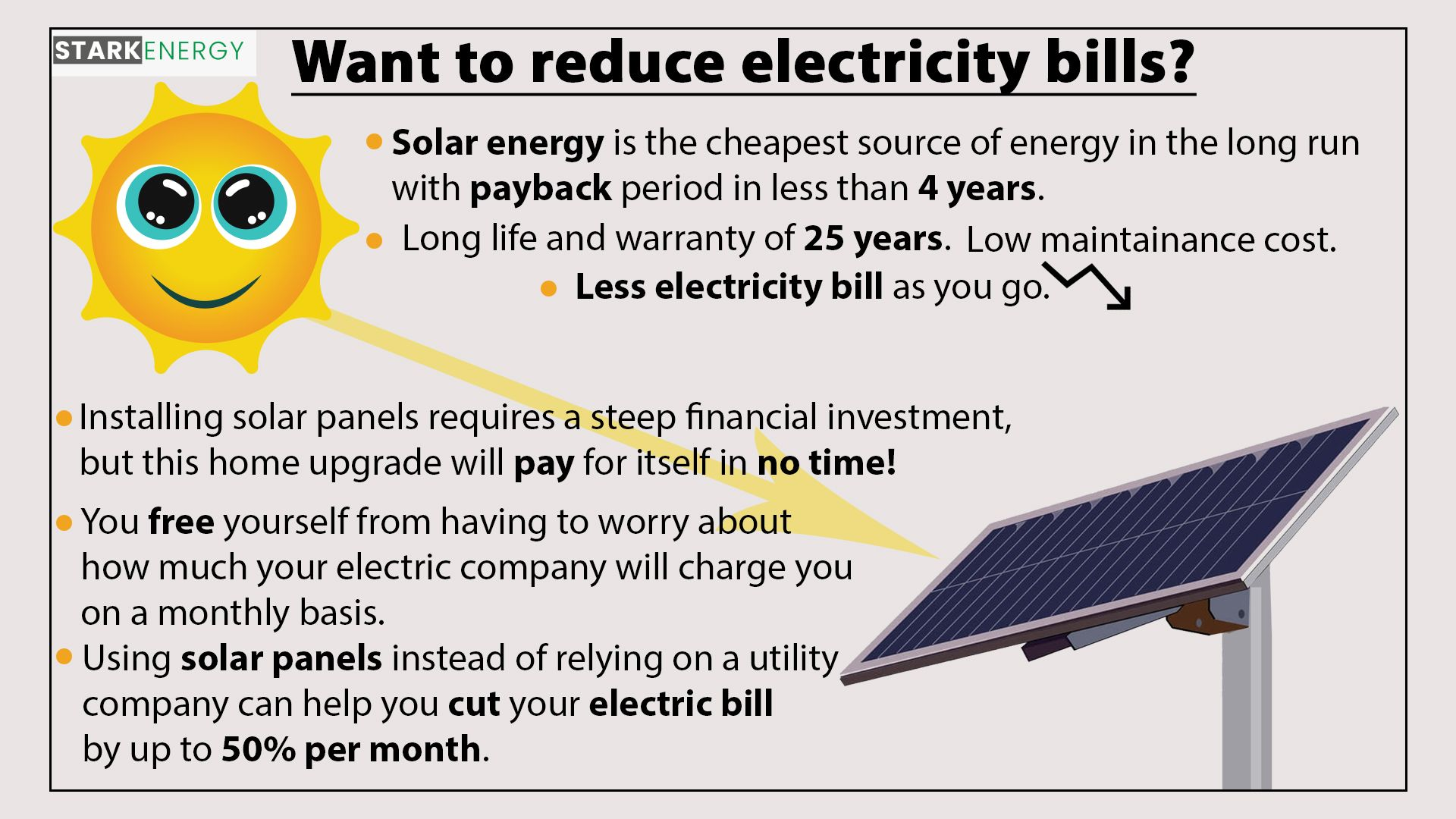 Reduce Electricity Bills By Switching To Solar Energy Solar Energy Solutions Solar Energy Reduce Electricity