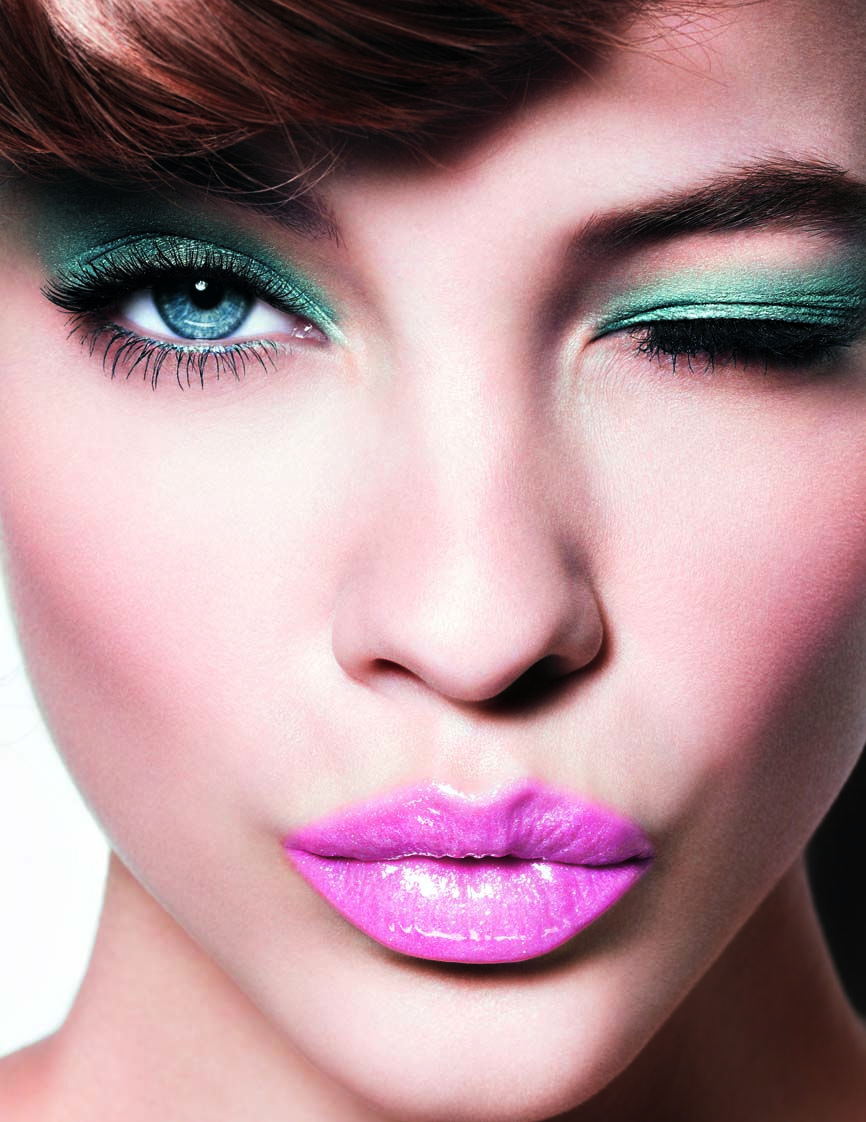 Makeup Color Clash - inspiration #barbarapalvin