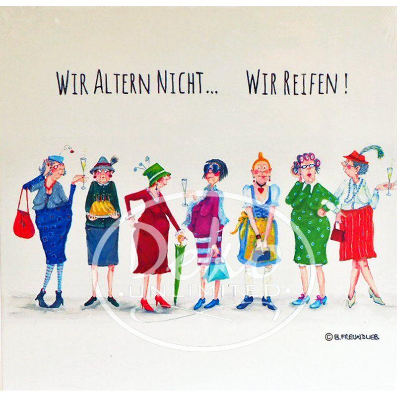 Holzbild Von Barbara Freundlieb Wir Altern Nicht