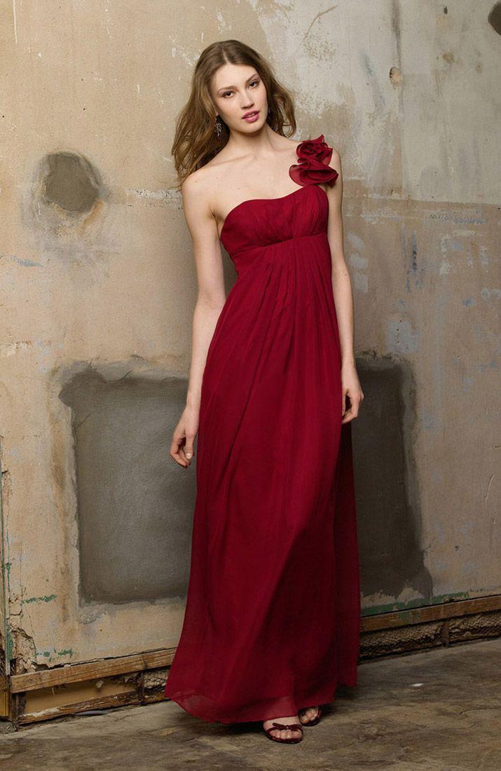 Dark red bridesmaid dress red bridesmaid dress pinterest dark red bridesmaid dress ombrellifo Choice Image