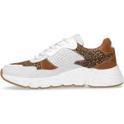Photo of Cognac-colored dad sneakers made of suede (36,37,38,39,40,41,42) Manfield