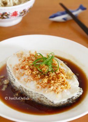 Recipe hong kong style steamed cod fish yummy food pinterest recipe hong kong style steamed cod fish chinese food forumfinder Choice Image