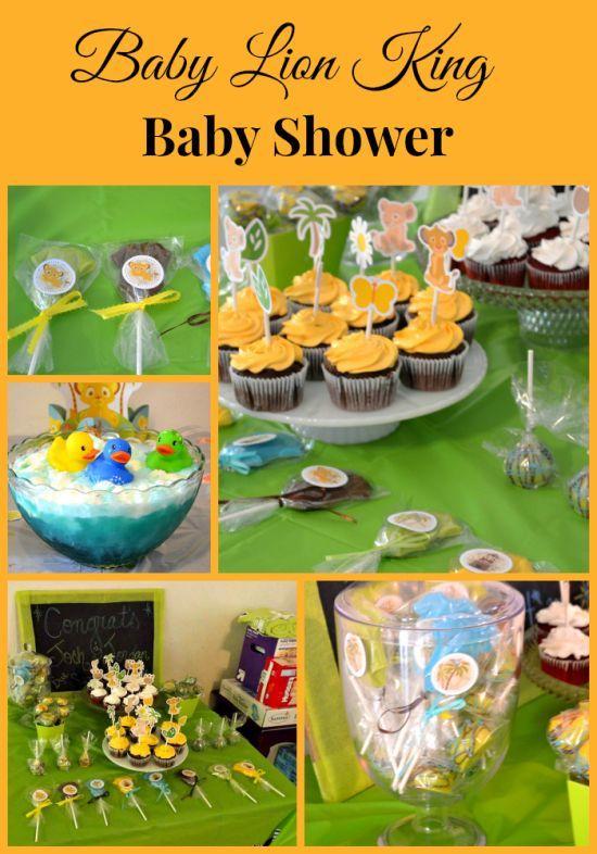 Lion King Lollipop Baby Shower Favors Recipe Shower Favors